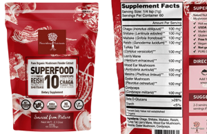 superfood 10 medicinal mushroom supplement